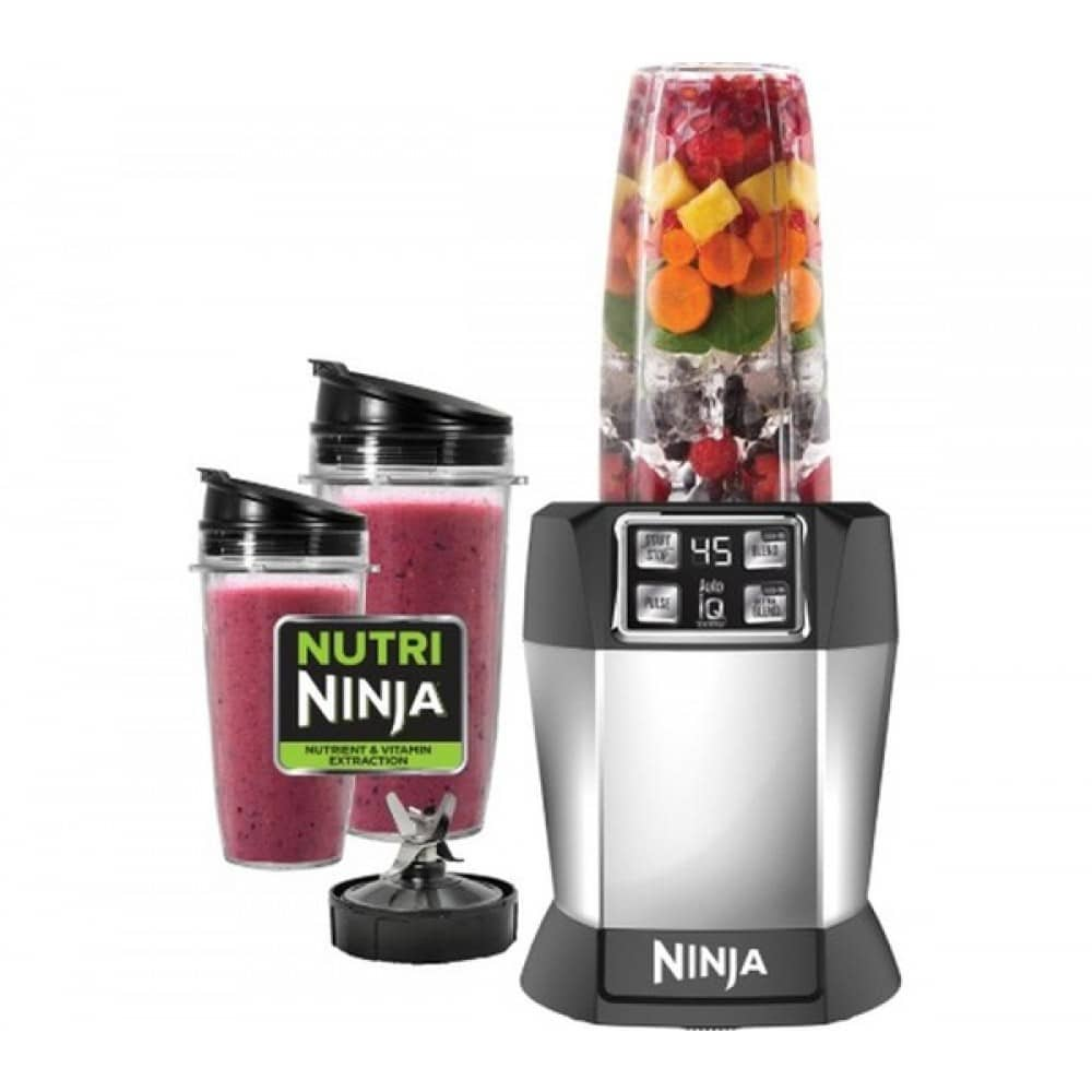 Nutri Ninja Winactie + smoothie recept.